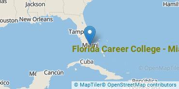 Location of Florida Career College - Miami