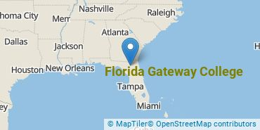 Location of Florida Gateway College