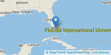 Location of Florida International University