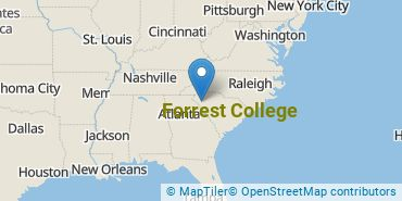 Location of Forrest College