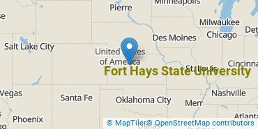 Location of Fort Hays State University