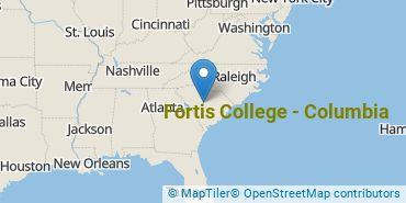 Location of Fortis College-Columbia