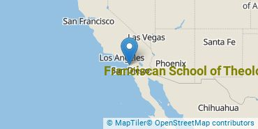 Location of Franciscan School of Theology