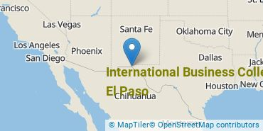 Location of International Business College-El Paso