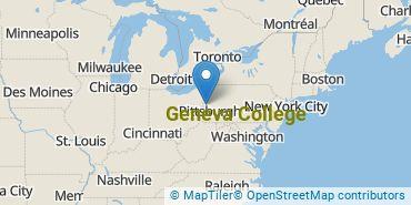 Location of Geneva College