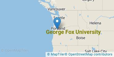 Location of George Fox University