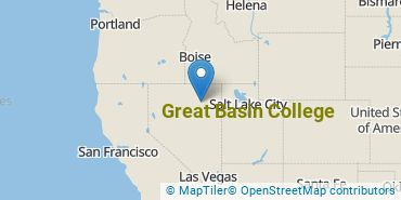 Location of Great Basin College