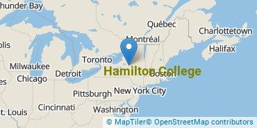 Location of Hamilton College