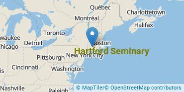 Location of Hartford Seminary