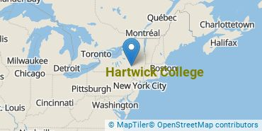 Location of Hartwick College