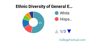 Ethnic Diversity of General English Literature Majors at Harvard University
