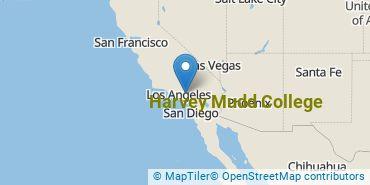 Location of Harvey Mudd College