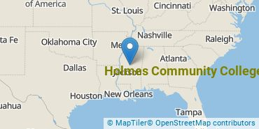 Location of Holmes Community College