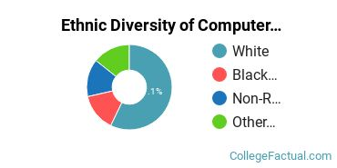 Ethnic Diversity of Computer Information Systems Majors at Houghton College
