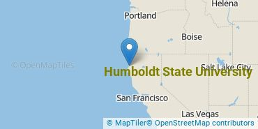 Location of Humboldt State University