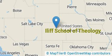 Location of Iliff School of Theology