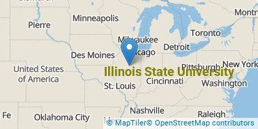 Location of Illinois State University
