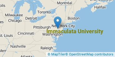 Location of Immaculata University