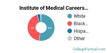 Institute of Medical Careers Undergraduate Racial-Ethnic Diversity Pie Chart