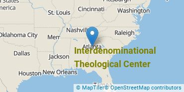 Location of Interdenominational Theological Center