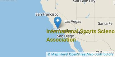 Location of International Sports Sciences Association