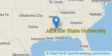 Location of Jackson State University