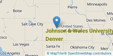 Location of Johnson & Wales University - Denver