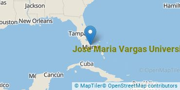 Location of Jose Maria Vargas University