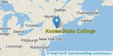 Location of Keene State College