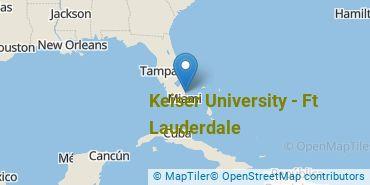 Location of Keiser University - Ft Lauderdale