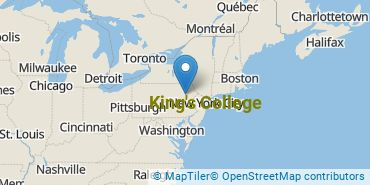 Location of King's College