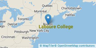 Location of Laboure College