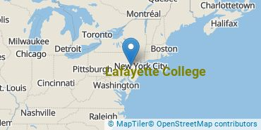 Location of Lafayette College