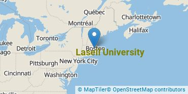 Location of Lasell College