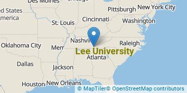 Location of Lee University