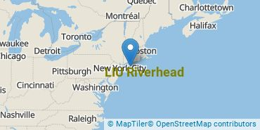 Location of LIU Riverhead