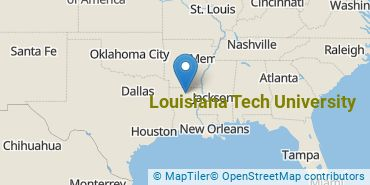 Location of Louisiana Tech University
