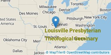 Location of Louisville Presbyterian Theological Seminary