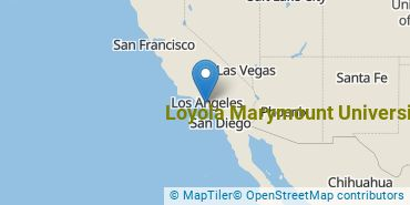 Location of Loyola Marymount University