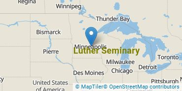 Location of Luther Seminary