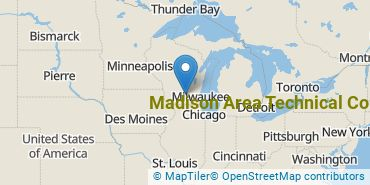 Location of Madison Area Technical College