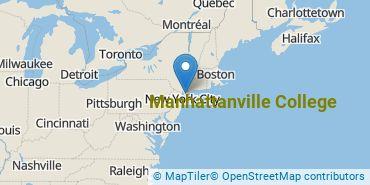 Location of Manhattanville College