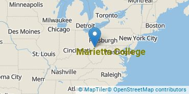 Location of Marietta College
