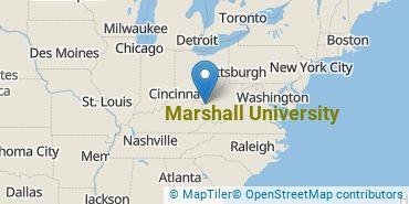 Location of Marshall University