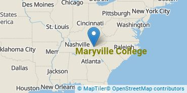 Location of Maryville College