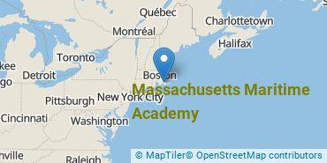 Location of Massachusetts Maritime Academy