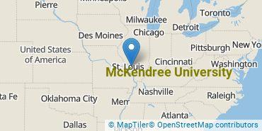 Location of McKendree University