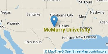 Location of McMurry University