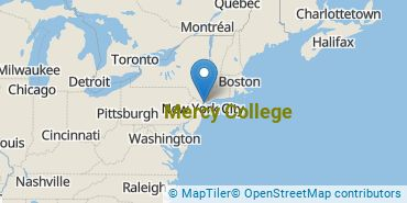 Location of Mercy College