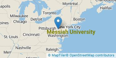 Location of Messiah College